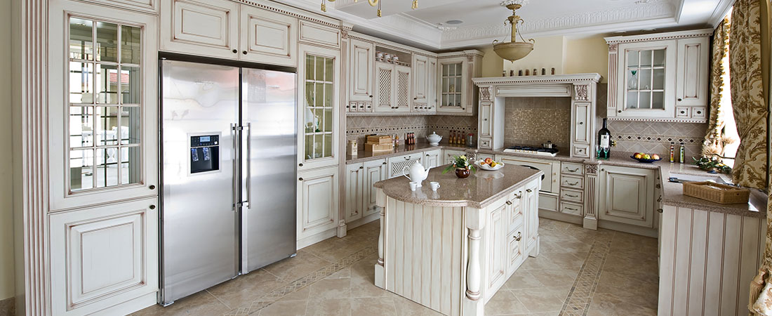 high-end kitchen