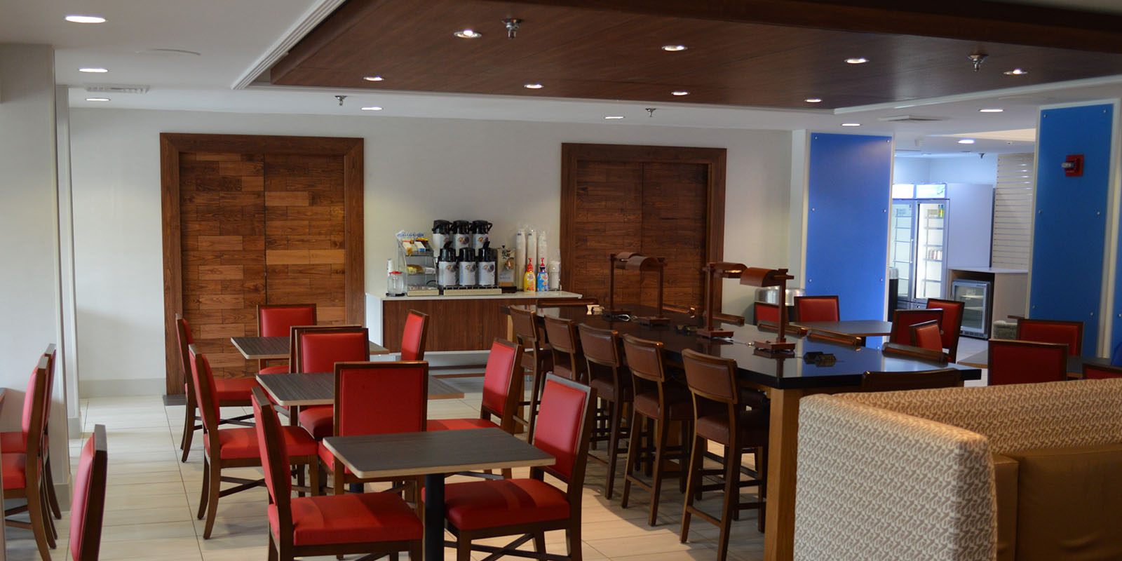 Holiday Inn Express Breakfast Area